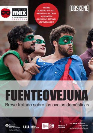 Cartel de la obra de teatro Fuenteovejuna